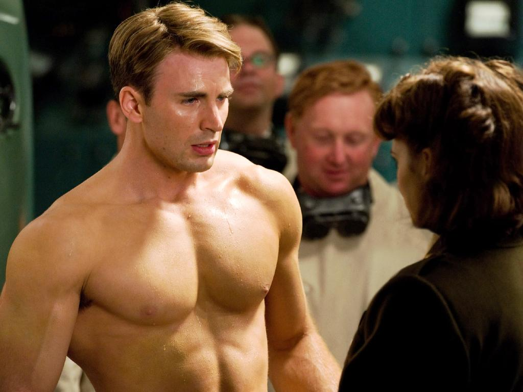 Social media users have suggested just making Chris Evans' Captain America gay. Picture: Supplied