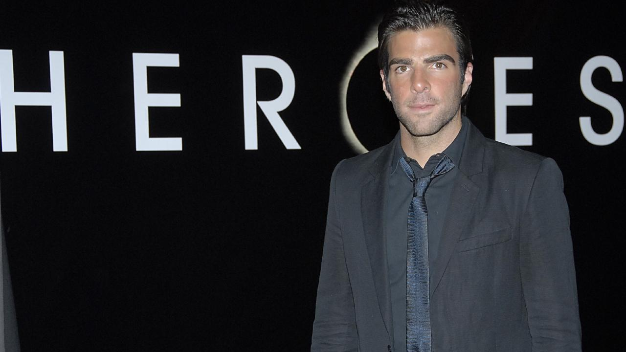 Actor Zachary Quinto has already shown he can play a superhero. Picture: AP