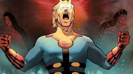 Marvel is thinking of making one of The Eternals gay. Picture: Supplied