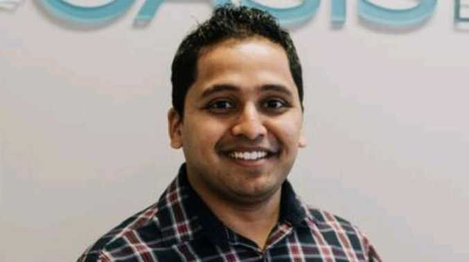 Harshwardhan Narde, 34, who had been in a relationship with murdered Sydney dentist Preethi Reddy, killed himself by crashing his car into a semi-trailer. Picture: Facebook.