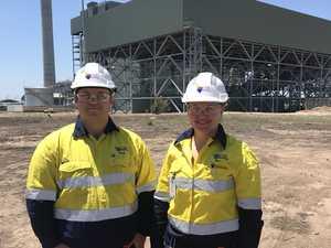 Western Downs pair begin career in mining