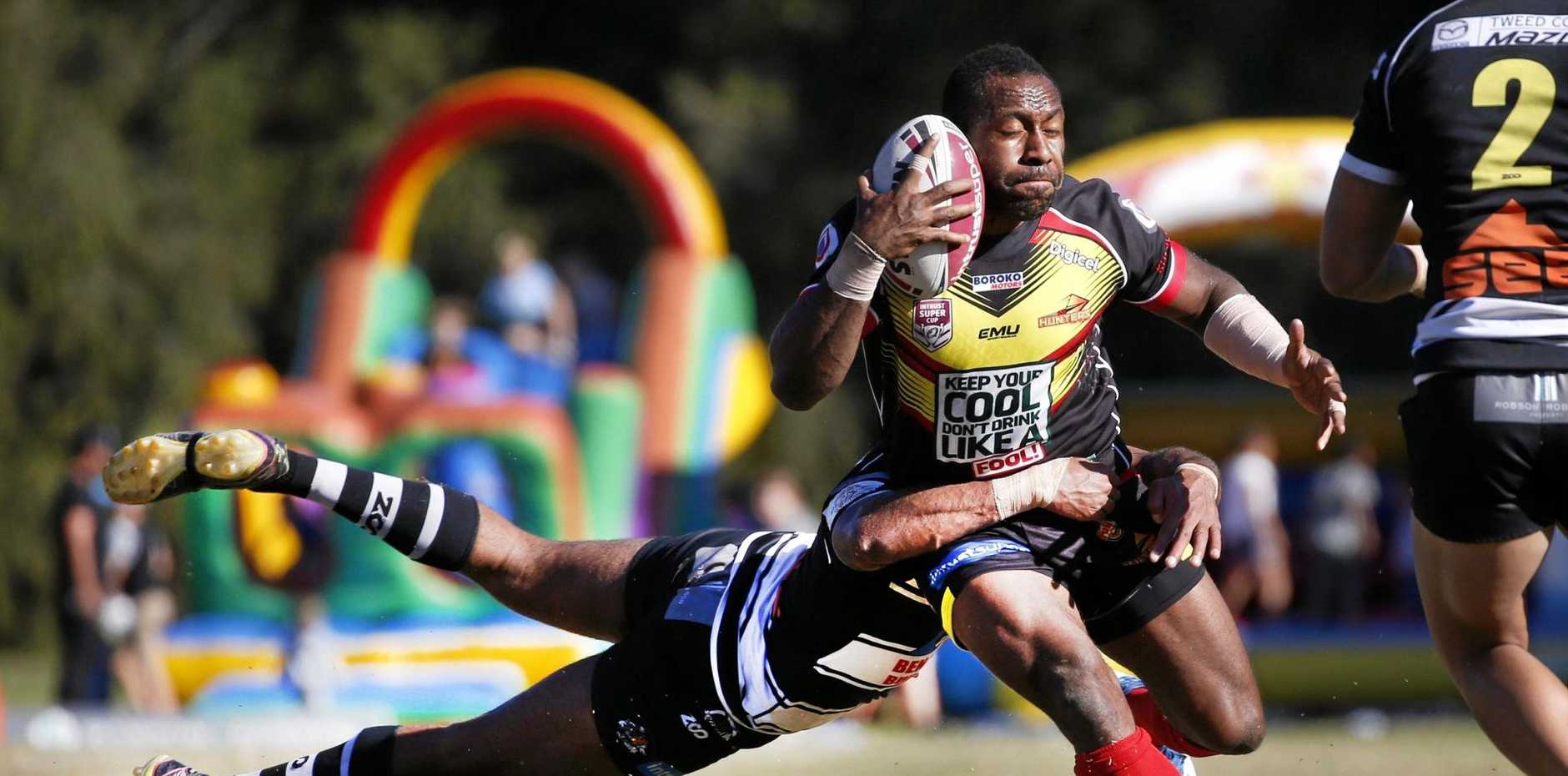READY TO PLAY: Tweed Seagulls will host the PNG Hunters at their home ground at Piggabeen at West Tweed in the opening round of the Intrust Super Cup on Sunday in what is expected to be a free flowing clash.