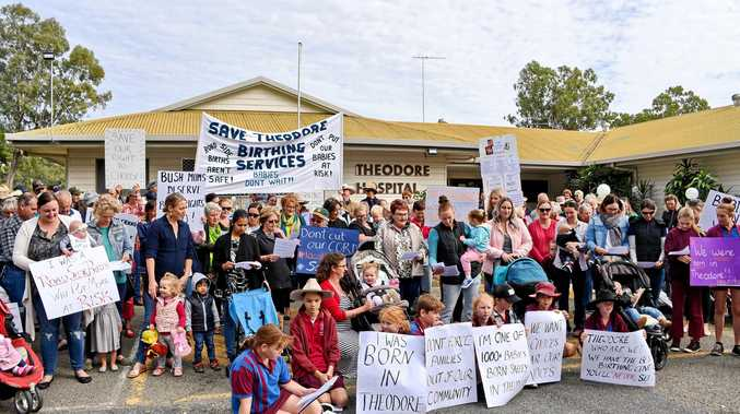 RURAL REPORT: Friends of Theodore Maternity Services group had an invitation-only meeting with the Queensland Health Rural Maternity Services Taskforce.