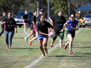 Clinic for ladies eager to play league tag