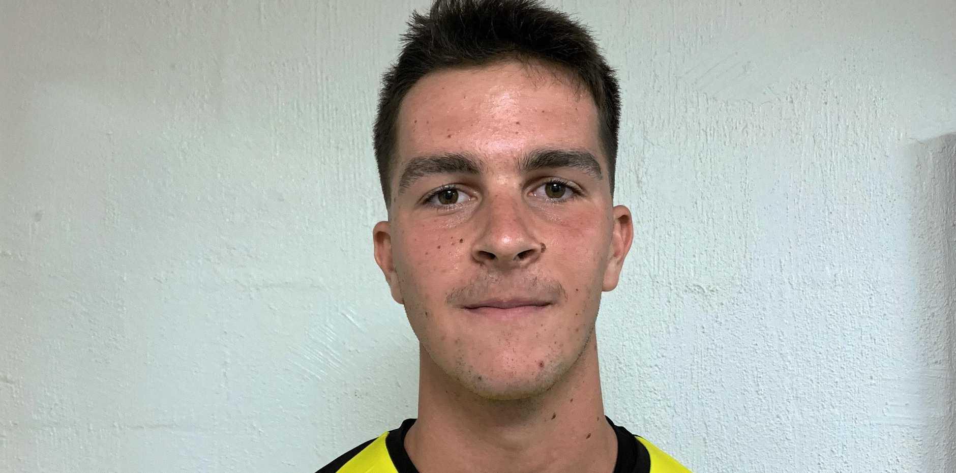 Western Pride goalkeeping recruit Griffin Bambach.