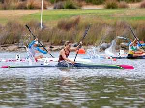 Burnett claims golden double at canoe sprint nationals