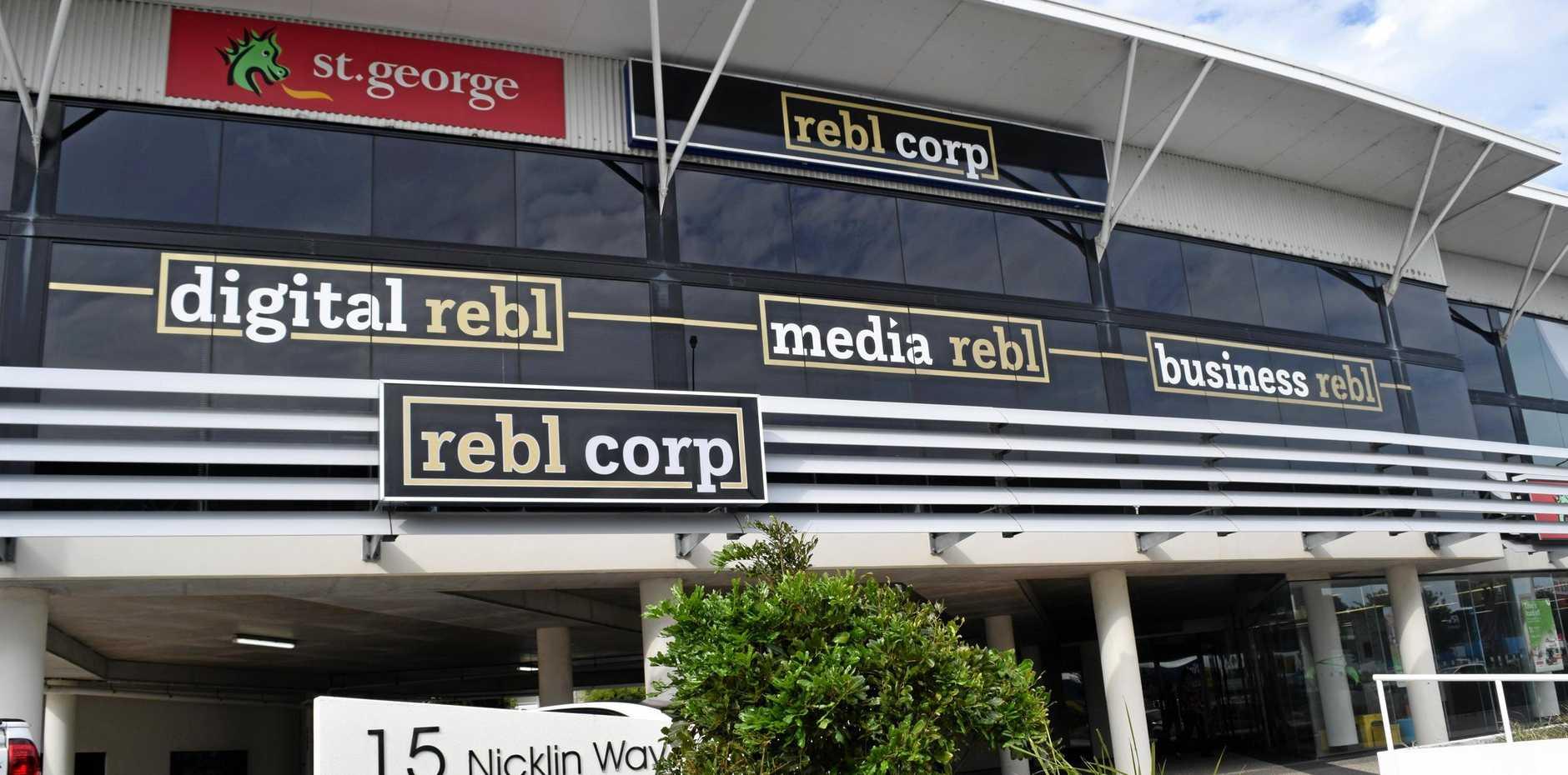 Rebl Corp has shut its doors leaving dozens of staff without jobs.
