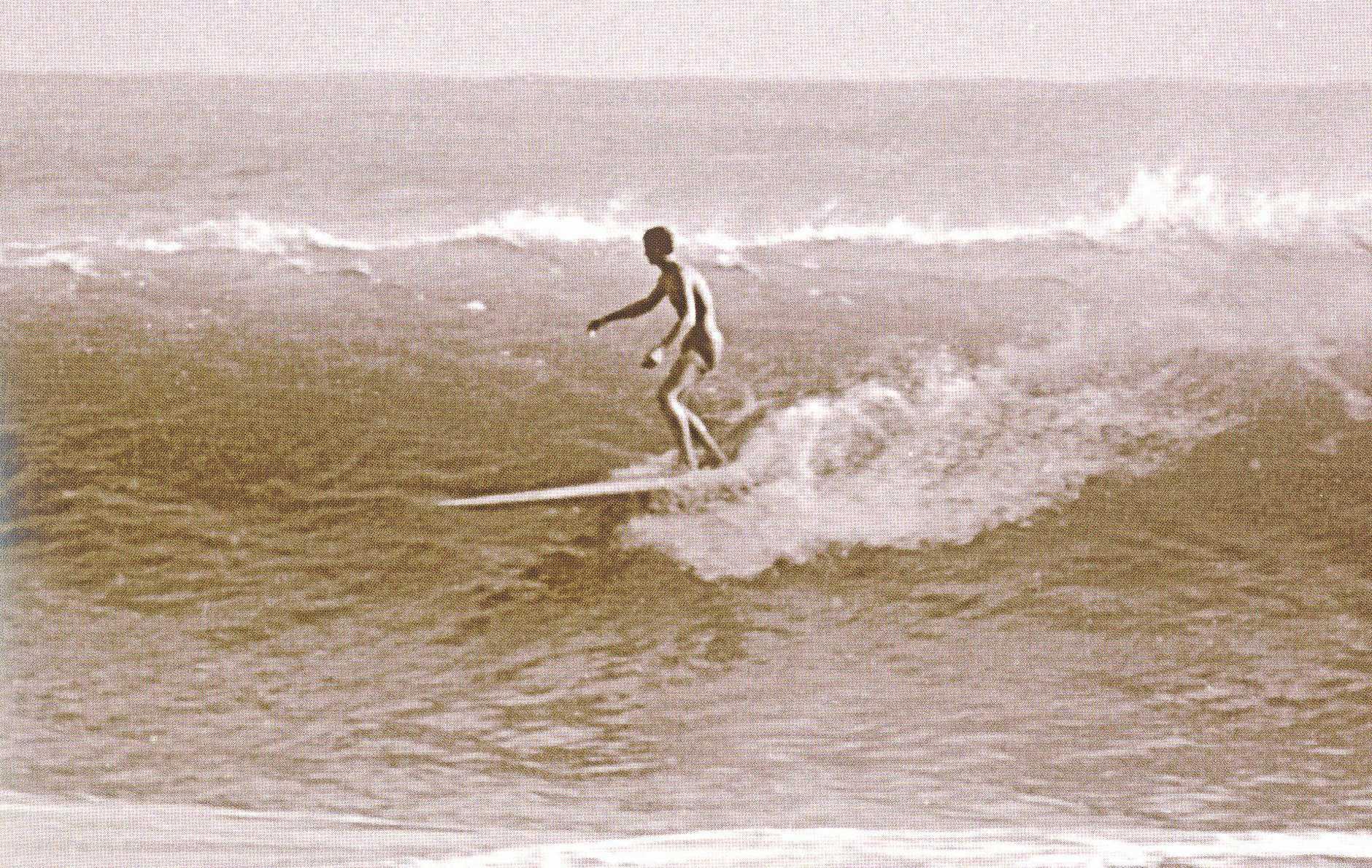 Hayden Surfcraft founder Hayden Kenny catching a break at Noosa.