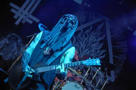 Behemoth support Slayer at Riverstage in Brisbane.
