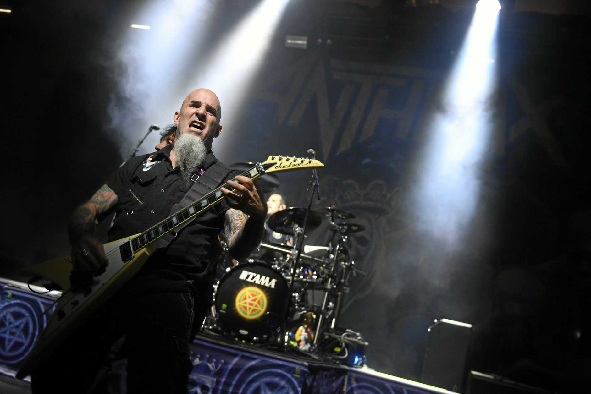 Anthrax support Slayer at Riverstage in Brisbane.