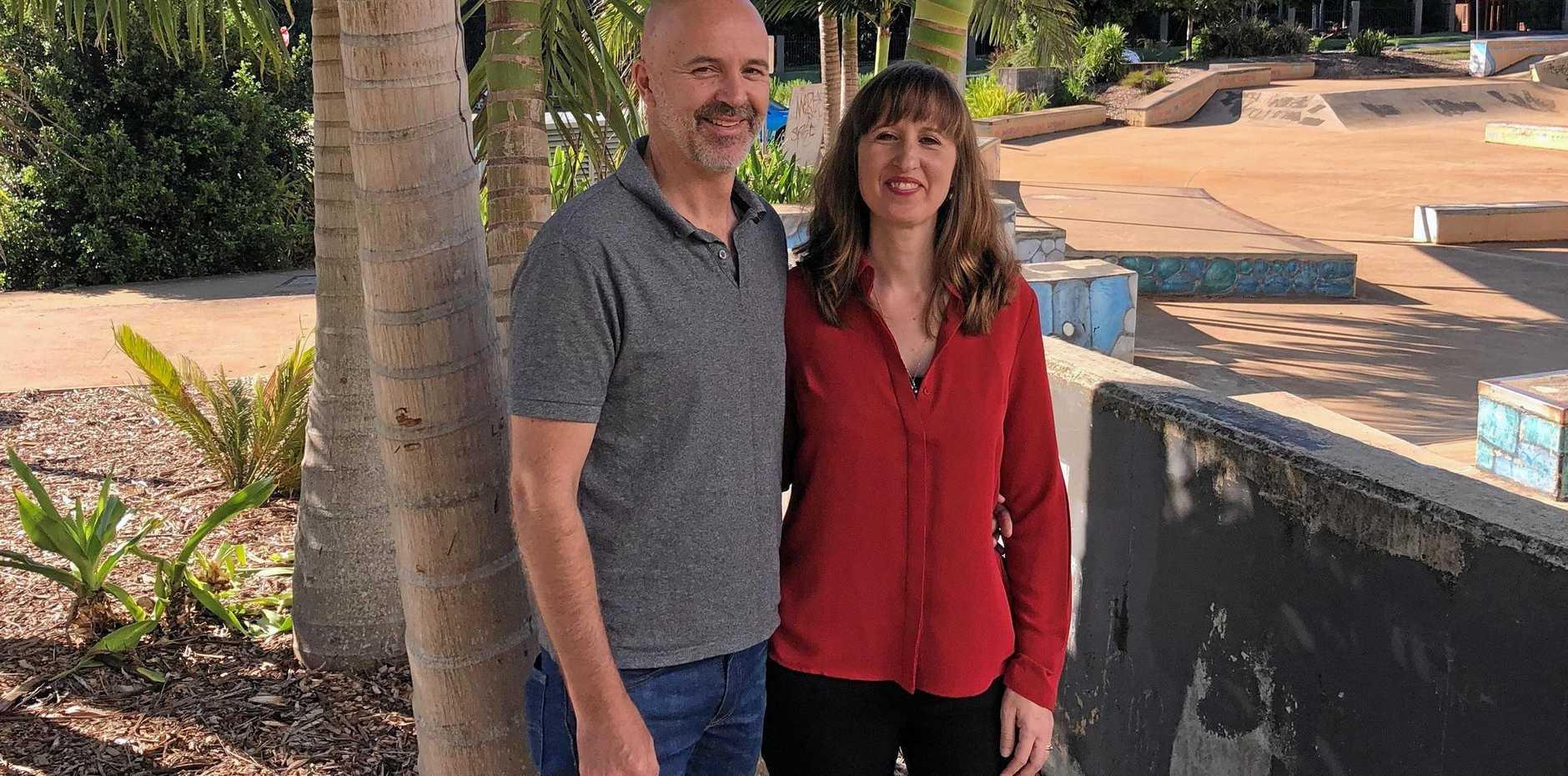 Adaptapack directors, Sam and Katie Walls.