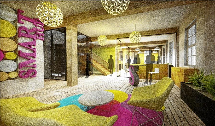 The Smart Working Hub design proposed for the former Bond Store at Customs House in Rockhampton.