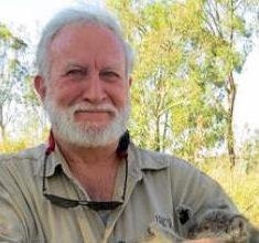 University of Queensland koala expert Dr Frank Carrick.