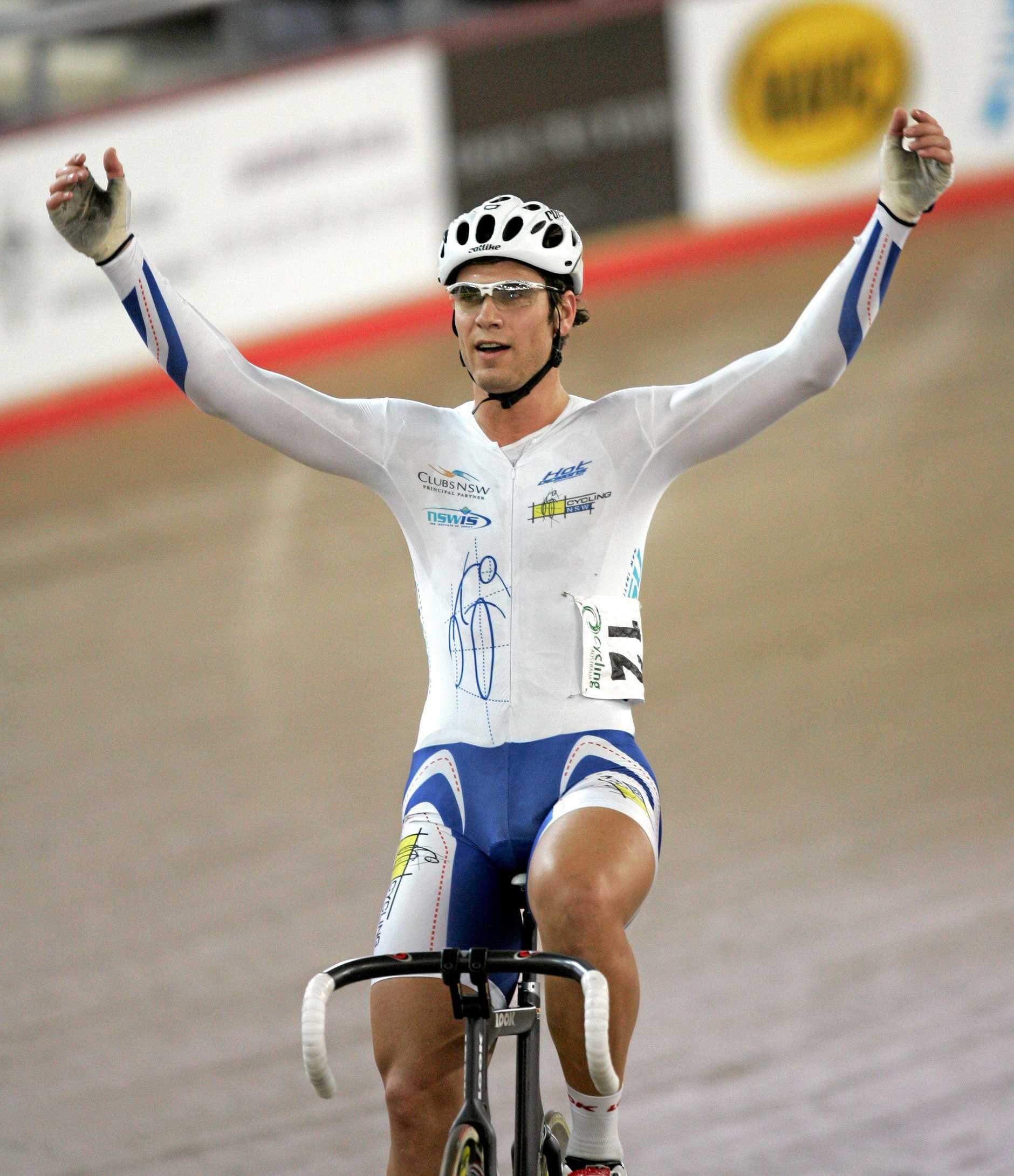 Cycling - 2007 Australian Track Cycling Championships @ Dunc Gray Velodrome .Ben Kersten wins the Mens Omnium , after his 3rd place in the 15km Points race Pic;Gregg Porteous