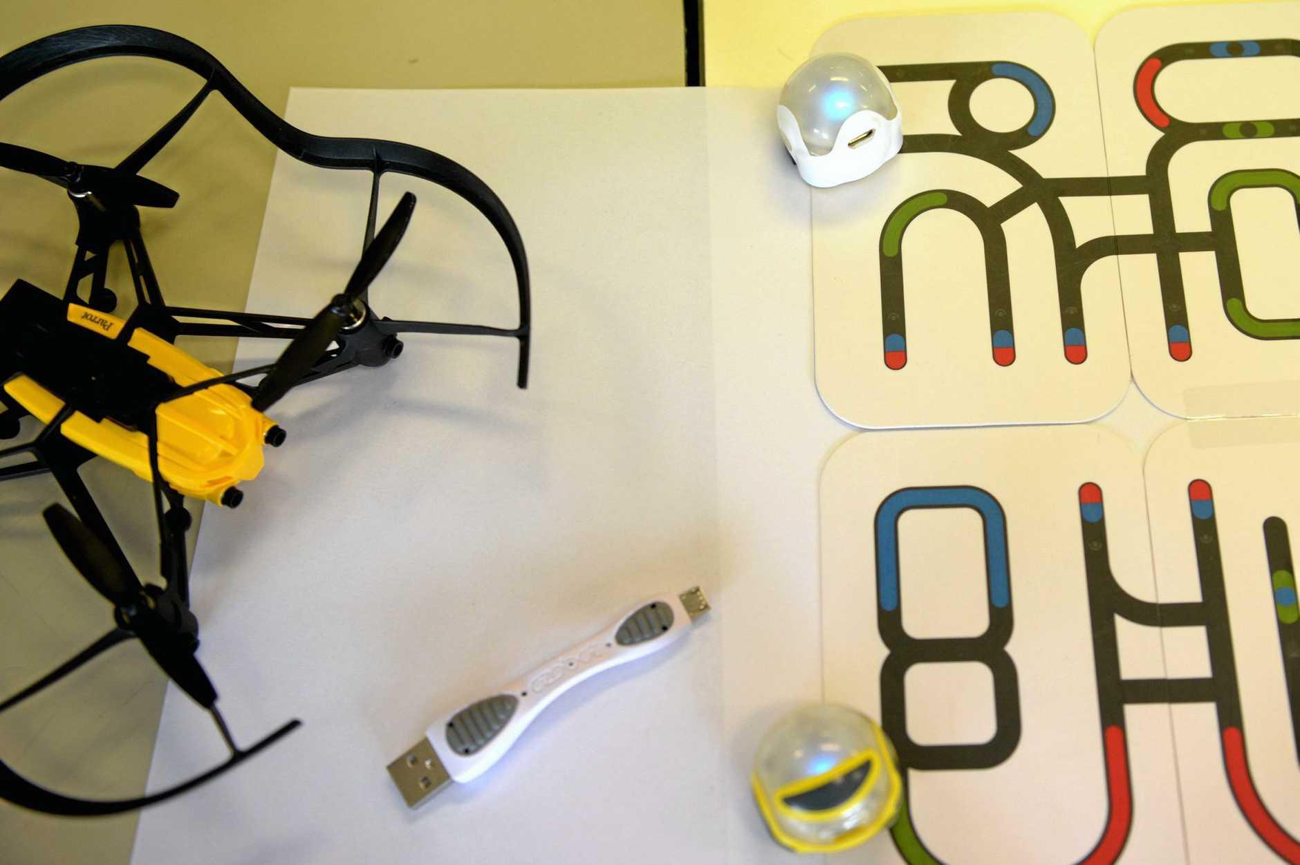 Ozobot robots teach robotics and coding in schools
