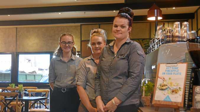 FRESH LOOK: The new look Jamaica Blue coffee shop at Kingaroy Shoppingworld.