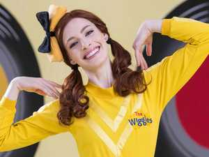 Emma the Yellow Wiggle's new move