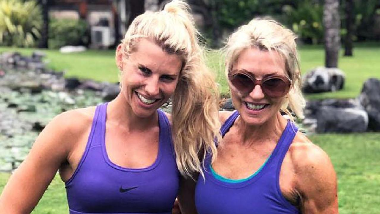 Tiff Hall shares Instagram post of her and her incredibly fit mother Jeanette.