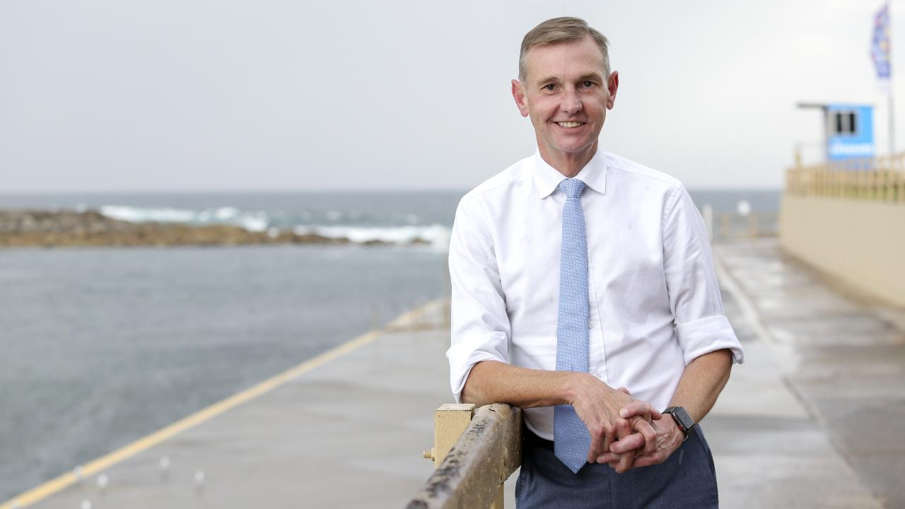 Liberal MP Bruce Notley-Smith holds the seat of Coogee on a slim 2.9 per cent margin. Picture: Justin Lloyd