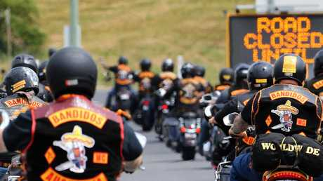 Bandidos bikies are at the centre of a potential new bikie war in Queensland. Picture: CHRIS KIDD