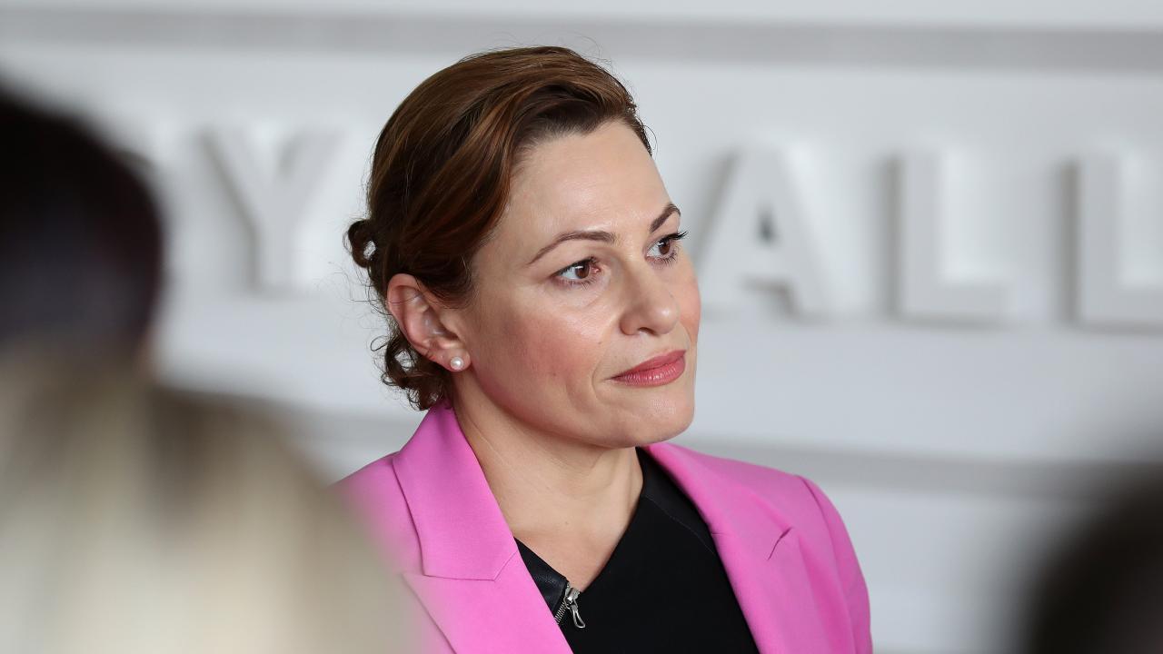 Deputy Premier Jackie Trad. Photographer: Liam Kidston