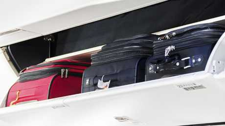Australia's airlines have been focusing on cabin baggage.
