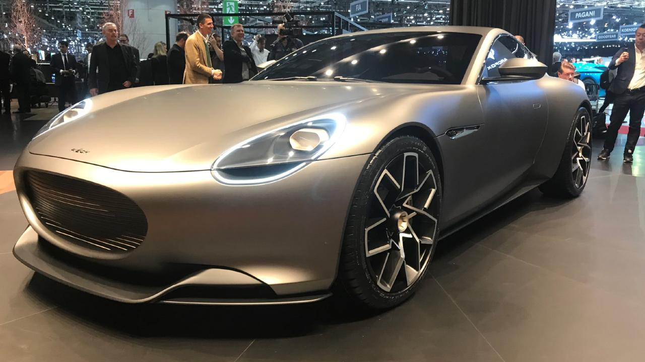 Piech Automotive revealed its Mark One concept at the Geneva motor show.
