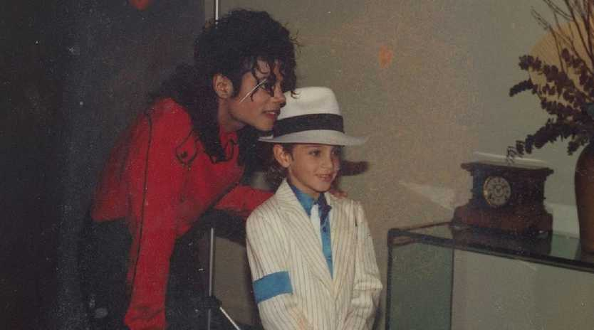 Wade Robson met Michael Jackson when he was only five years old.