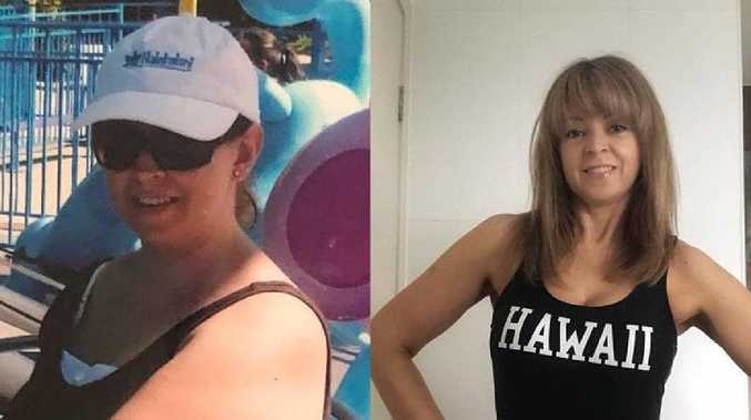 At her heaviest, mother-of-two Kerrie O'Brien weighed 91 kilos. She went from a size 18 to a size 8 in 15 months.
