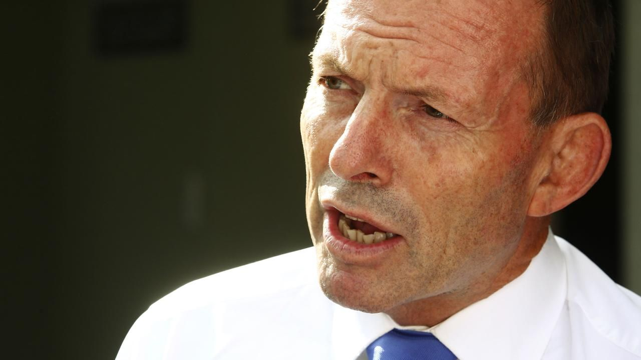 Former prime minister Tony Abbott faces a strong challenge in his own seat. Picture: John Appleyard
