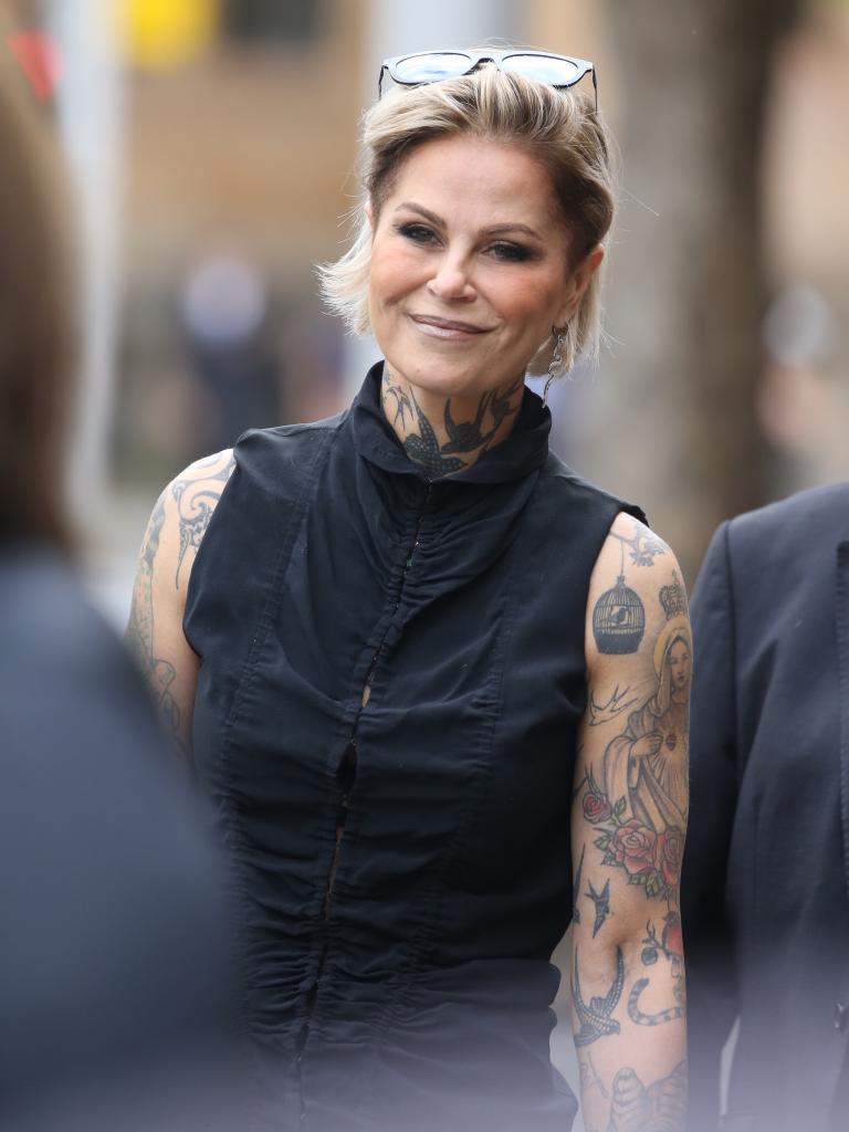 Willesee's ex-wife Gordana Poljak. Picture: John Grainger