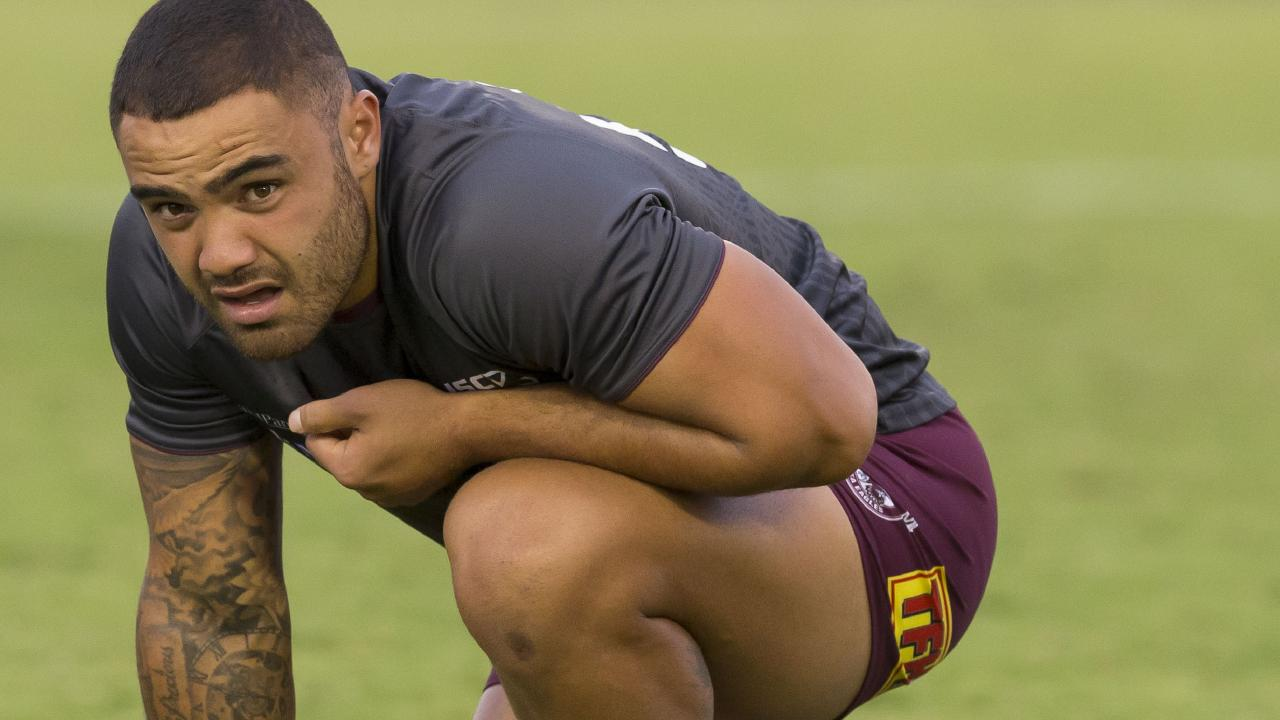 "Dylan Walker has also been stood down by the NRL under the ""No Fault"" policy. Picture: AAP Image/Craig Golding"