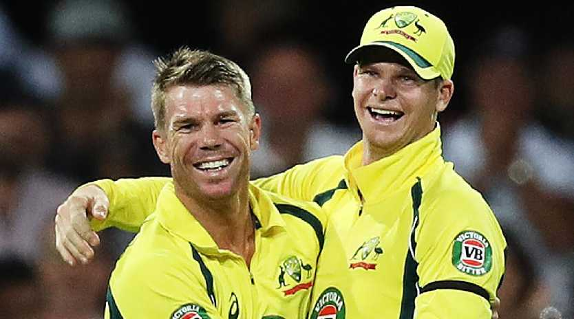 David Warner and Steve Smith are in for a torrid time in England. Picture: Brett Costello