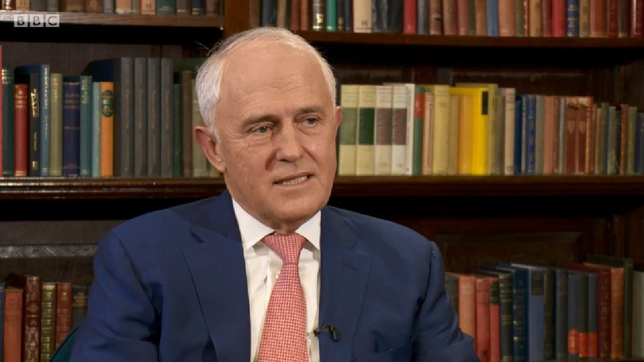 Malcolm Turnbull unloads on the Liberal Party on the BBC's Politics Live