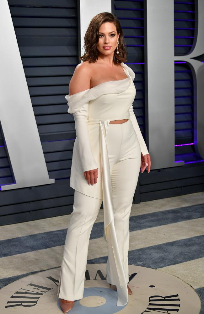 Ashley Graham at the 2019 Vanity Fair Oscar party. Picture: Dia Dipasupil/Getty Images