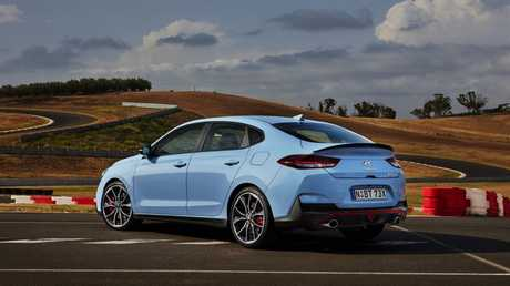 The i30 N Fastback is a track weapon.