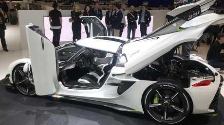 Christian von Koenigsegg is determined to set new speed records.