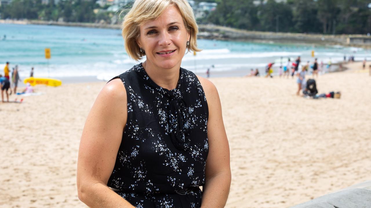 Mr Abbott's challenger, Zali Steggall.