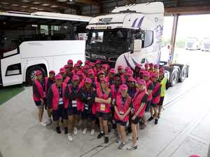 Scania welcomes 'women of tomorrow' for IWD