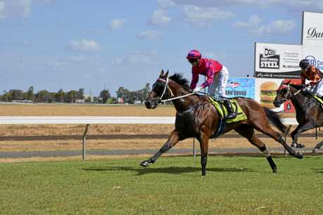 Real Supremacy and apprentice Nick Keal combine for victory in today's Class 4 Plate at Bunya Park.