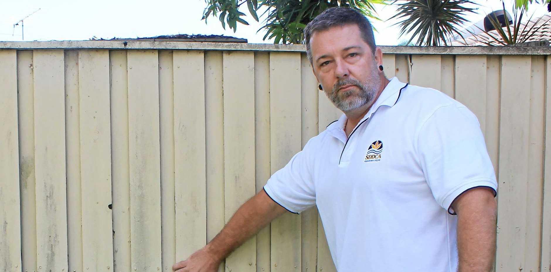 SEEKING ANSWERS: Sippy Downs and District Community Association president Matt Druce.