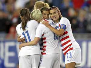 US national women's soccer team sues for equal pay
