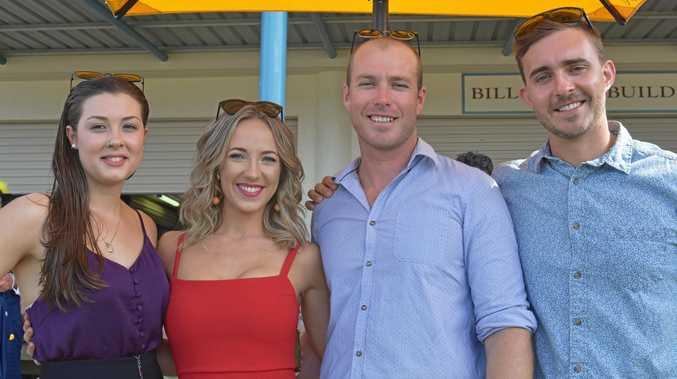 Racing socials -  Lauren Theodore, Hanagh Gilmore, Jordan Dixon and Todd Stolberg.