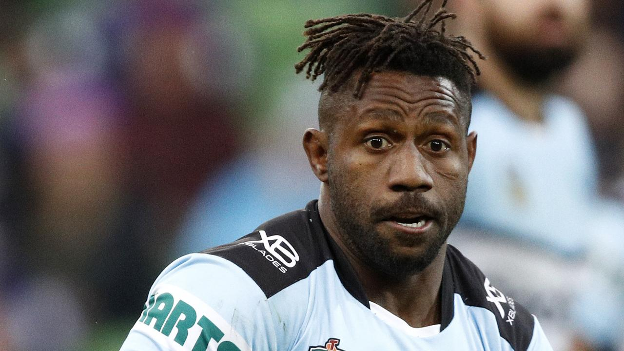 James Segeyaro's contract is set to be refused by the NRL. Picture: Daniel Pockett