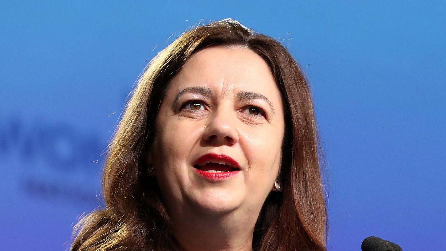 Queensland Premier Annastacia Palaszczuk.  Picture: Liam Kidston