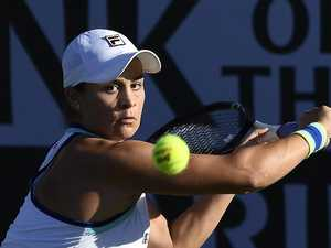 Dasha joins Indian Wells Barty party