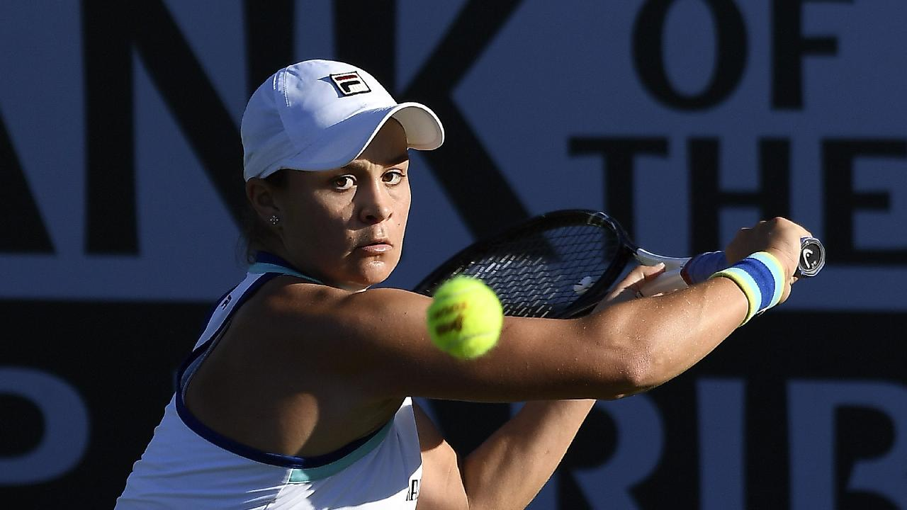 Ash Barty has cruised into the second round at Indian Wells. Picture: Getty