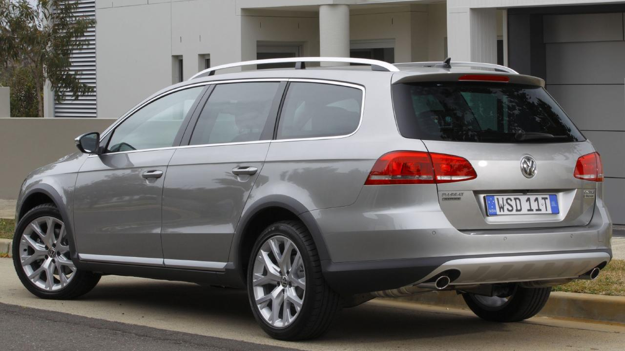 2012 Passat Alltrack wagon: Turbo diesel, AWD and extra ride height