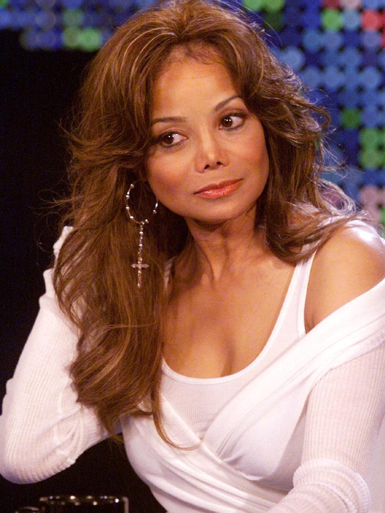LaToya Jackson in 2003. Picture: Supplied