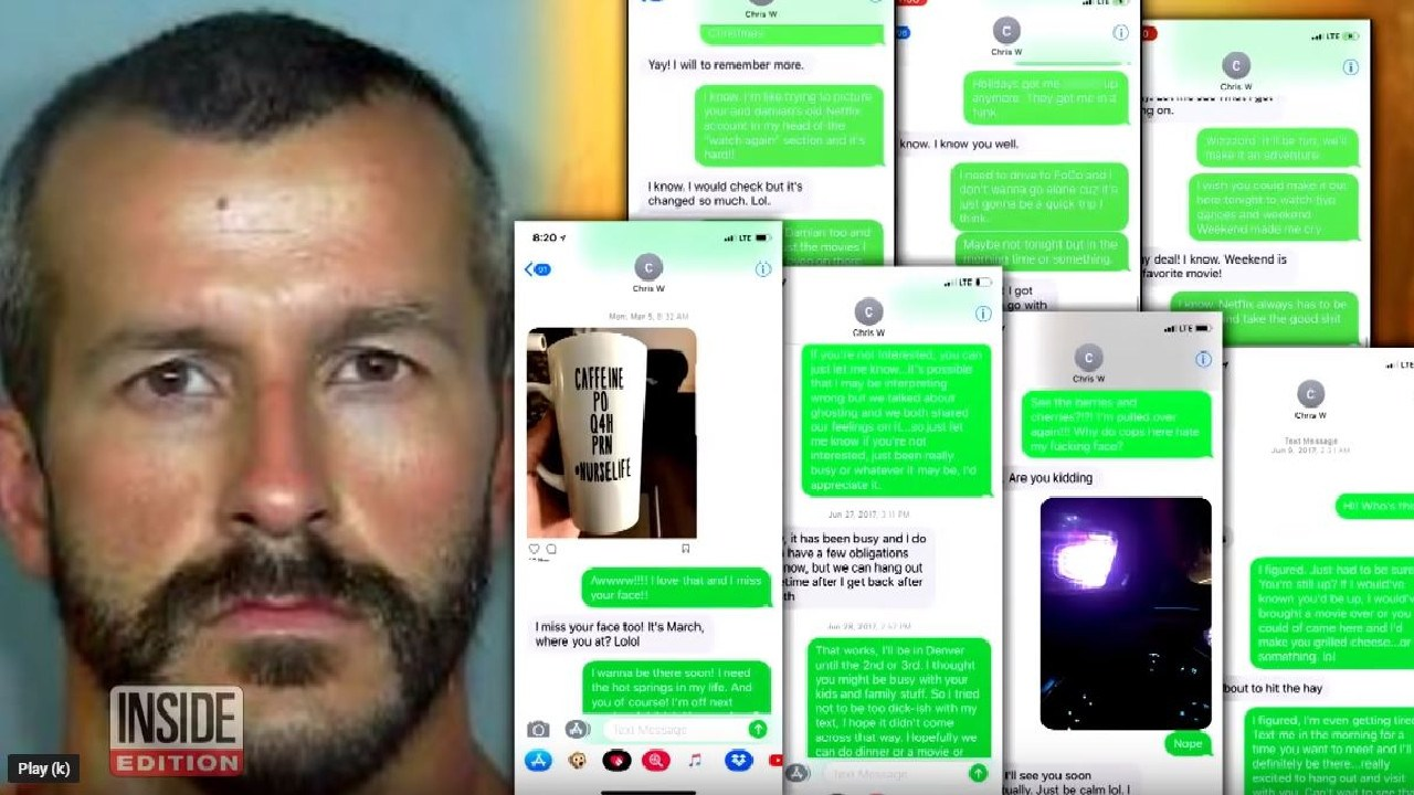 Trent Bolte claims he was in a gay relationship with killer dad Chris Watts for almost a year, before he murdered his wife and two daughters.